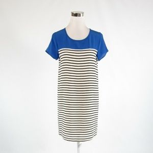 Blue black JOIE short sleeve dress XS